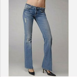Paige Low Rise Lauren Canyon Bootcut Jeans